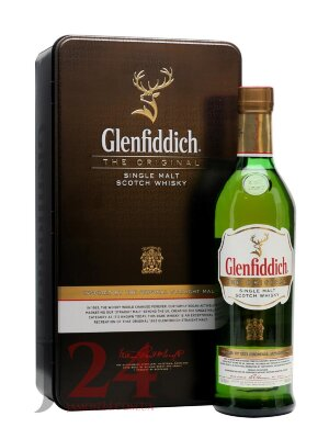 Виски Гленфиддиш Оригинал, 0,7л, Whisky Glenfiddich The Original 70 cl Шотландия