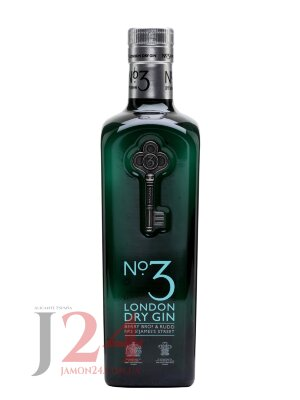 Джин №3 Лондон 0,7л. 46% No.3 London Dry Gin 70cl