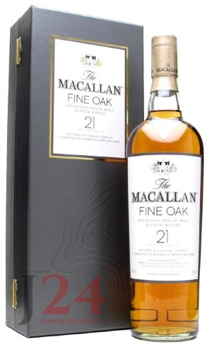Виски Макаллан Файн Оак 21 год, 0,7л, 40% Whisky Macallan Fine Oak 21 y.o. 70 cl Шотландия
