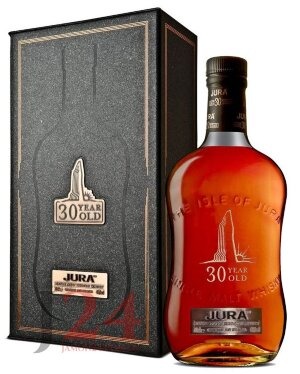 Виски Исл Джура 30 лет, 0,7л, 44% Whisky Isle Of Jura 30 y.o. 70 cl Шотландия