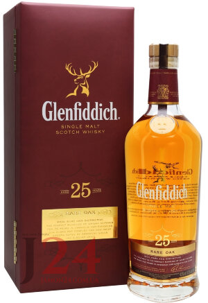 Виски Гленфиддик Рейр Оак 25 лет, 0,7л, 43% Whisky Glenfiddich Rare Oak 25 y.o. 70 cl Шотландия