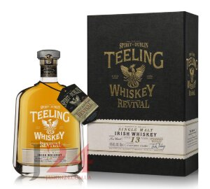 Виски Тилинг Ревайвал Сингл Молт 13 Лет, 0,7 л. 46% Whiskу Teeling Revival Single Malt 13 YO